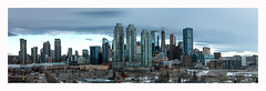 Calgary Skyline, Canada (David MONSU Photography) Tags: calgary canada alberta bowtower telussky brookfieldplace bankershall olympicplaza skyline cityscape rockymoutains rocheuses banff tower business