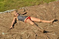 Making mud angels (radargeek) Tags: internationalmudday myriadgardens okc oklahomacity 2018 june kid child kids children play mud