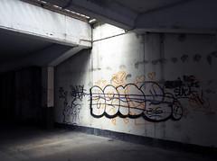 subway (chrisinplymouth) Tags: wall subway pedestrian walkway graffiti plymouth devon england uk city cw69x xg