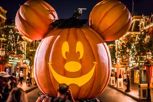 Mickey Pumpkin - Disneyland