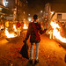 The End of Cliffe Bonfire Society Parade at Lewes Bonfire Celebrations