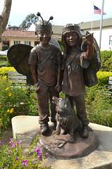 Butterfly Kids (afagen) Tags: california pacificgrove montereypeninsula butterflykids christopherbell sculpture