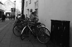 Basket Search (Bury Gardener) Tags: burystedmunds blackandwhite monochrome mono suffolk street streetphotography streetcandids snaps strangers candid candids people peoplewatching folks 2018 nikond7200 nikon england eastanglia uk britain