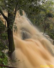 Salt de Martís o d'Espolla. (2018) (Ernest Bech) Tags: catalunya girona pladelestany banyoles plademartís aigua water waterfall saltdaigua cascada landscape longexposure llargaexposició llums lights