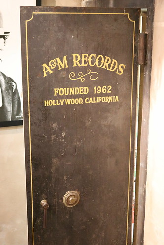 "Original A&M Records Vault Door • <a style=""font-size:0.8em;"" href=""http://www.flickr.com/photos/28558260@N04/45078965424/"" target=""_blank"">View on Flickr</a>"