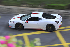Ferrari, F458 Italia, Tsim Sha Tsui, Hong Kong (Daryl Chapman Photography) Tags: vk9007 ferrari 458 italia pan panning hongkong china sar tst tsimshatsui canon 5d mkiv 70200l auto autos automobile automobiles car cars carspotting carphotography