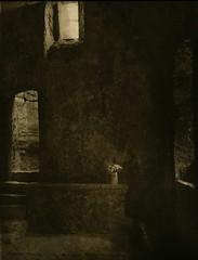 St Govan's chapel (mabtud) Tags: adox 100 rodinal bronica printed orwo universal developed fotospeed ld 20 moersch selenium paper sponsored by thomas heckmann michael hummel