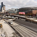SR 99 shaping up at the south tunnel portal