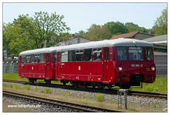 Rübb - 2003-01 (olherfoto) Tags: bahn eisenbahn triebwagen lvt ferkeltaxi dr putbus rasenderroland rübb rükb rügen rügenschebäderbahn