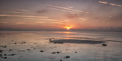 On an island (Through Bri`s Lens) Tags: sussex sunrisebeachlow lowtide reflections brianspicer canon5dmk3 canon1635f4 lee09softgrad