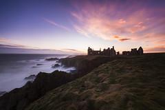 Slains Castle Sunset (dawnlb83) Tags: slains castle dracula aberdeenshire longexposure bw filter 10stopfilter 30sec seascape stor storm cruden bay