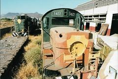 MEX18 RSD-12 7427 (stevenjeremy25) Tags: ferromex fxe fnm mexico train railway railroad fcp pacifico empalme alco rsd12 7427