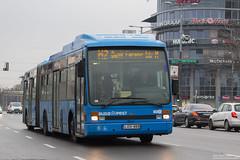 LOV-868 (Adamkings14) Tags: lov868 vanhool ag300 bkv metrópótló metro replacement bkk budapest
