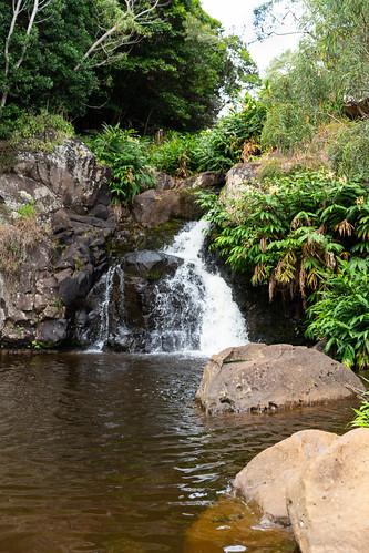 Waipoo Falls Waimea Canyon Park Kauai, Hawaii