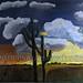 """Three Angel Wings"" by Lynette A, acrylic, $25.00"