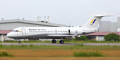 Myanmar Air Force Fokker 70 (mengmee79) Tags: myanmar air force fokker 70 003