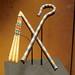 King Tutankhamun's tomb goods: flail and crook DSC_0971