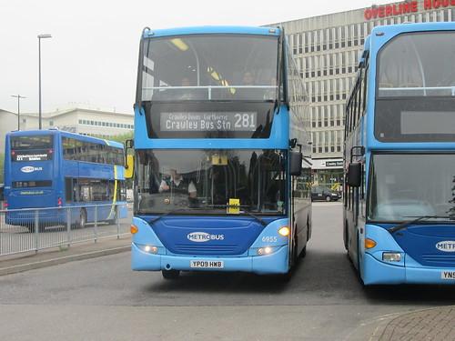 281 Bus Route Metrobus 281 Crawley East Grinstead Lingfield Metrobus