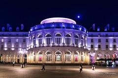 Opéra de Rennes (Bouhsina Photography) Tags: opéra rennes france bouhsina bouhsinaphotography nuit lumière 2018 brillant architecture sigma lune