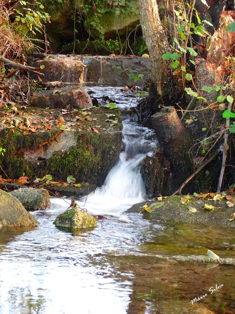 """Águas Frias (Chaves) - ... já """"correm"""" as águas frias serpenteando pelos regatos ..."""