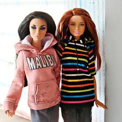 Tag Game: Barbie meets Fashion Royalty (Deejay Bafaroy) Tags: barbie doll dolls puppe puppen fashionistas mattel donut donuts girl fashion royalty fr integrity toys it poppy parker prettyinpolynesia taggamebarbiemeetsfashionroyalty taggame barbiemeetsfashionroyalty redhead stripes striped streifen gestreift pink rosa blue blau yellow gelb orange portrait porträt
