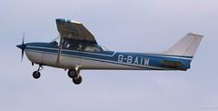 Cessna F172M Skyhawk G-BAIW Lee on Solent Airfield 2018 (SupaSmokey) Tags: cessna f172m skyhawk gbaiw lee solent airfield 2018