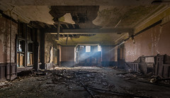 Abandoned Hartwood Hospital Nurses accommodation, Scotland