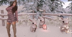 SNOW FALLS (SeL♡Pics) Tags: secondlife sl snow snowfalls hrodasfen winter photography