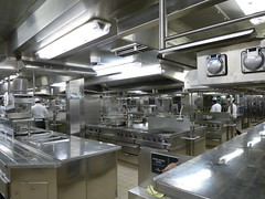 Ships Galley (Toats Master) Tags: ship cruiseship boat water ocean norwegian breakaway ncl nclbreakaway staff laundry galley
