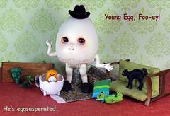 Problem child (bentwhisker) Tags: doll bjd resin anthro egg soom neoangelregion humptydumpty sanrio gudetama 5487