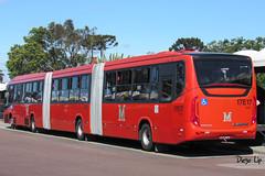 Marcopolo Viale BRT Volvo B340M Azul 17E17 (Diego Lip) Tags: marcopolo viale brt volvo b340m curitiba biarticulado ônibus bus