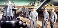 Forbidden Planet. 1956 (Just Back) Tags: robot fright scare science fiction planet world strange danger atmosphere men astronauts travel curious movie hollywood space universe solar uniform technology military oxygen ciencias