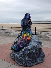 Mermaid of Memories (Thomas Kelly 48) Tags: panasonic lumix fz82 wirral seacombe mersey mermaid newbrighton