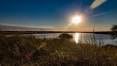 Atardecer en la Laguna 1 (Martin Antolin PH) Tags: paisaje landscape sunset sunrise atardecer contraste highcontrast altocontraste contraluz color sky pink orange