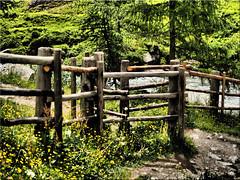 Happy Fence Friday (Ostseetroll) Tags: geo:lat=4705443925 geo:lon=1214142903 geotagged ita italien kasern südtirol taufererahrntal happyfence zaun southtyrol valleaurina olympusem5markii