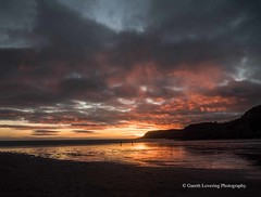 Sunset over Caswell Bay 2019 01 25 #64 (Gareth Lovering Photography 5,000,061) Tags: sunset sun sunny sunshine caswell gowercoast gower swansea wales seaside landscape beach walescostalpath olympus penf garethloveringphotography