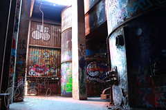 Echo Lake Incinerator 1.27.19.21 (jrbeckwith) Tags: echolakeincinerator 2019 photo picture jr beckwith jbeckr fortworth texas tx echo lake incinerator endangered danger old history historic abandoned left decay drug drugdealer graffiti girls shoot ruins