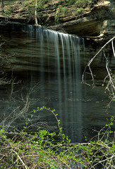 Clifty Falls State Park, Indiana (Roger Gerbig) Tags: rvp50 fujifilm fujichromevelvia50 35mm 135film slidefilm rogergerbig canoneos3 canonef28105mmf3545 indiana madison cliftyfallsstatepark