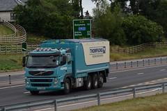 UJZ 2696 - Pepper Dromore County Down (Jonny1312) Tags: lorry truck volvo volvofm bulkblower tridem cloughmills frossesroad ballymena antrim dromore animalfeeds belfast
