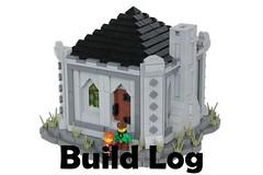 Danyel's House: Build Log (-soccerkid6) Tags: lego moc creation medieval house dwarven build log commentary process design brickbuilt