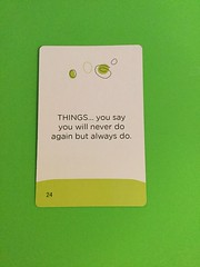 Card 19 (Pookie_Monster) Tags: things you say will never do again but always nothing personal lol