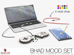 Bad Unicorn - Bhad Mood Set (Bhad Craven 'Bad Unicorn') Tags: bad unicorn n21 smashed laptop phone mac gamer games controller control pad retro rage rager smash angry decor mesh broken shattered funny usb wire charger pc quit props prop keyboard pro annoying annoyed u mad bro macbook apple repair note 9