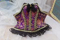 Purple Rhapsody (AyuAna) Tags: bjd ball jointed doll dollfie ayuana design minidesign ooak handmade overbust corset slim msd minifee mnf fairyland fashion couture set sewing sewingfordolls fantasy historical style