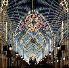 Calle Larios (Valderreydavid) Tags: verde málaga alumbradomlg alumbradomalaga navidad christmas night lights luces decoration larios spain street lighting