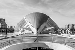 City of Arts and Sciences Valencia B & W (Amren1985) Tags: black white micro four thirds valencia city arts science panasonic1235mmf28x abstract europe spain beautiful capture