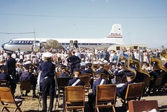 Ike at Denver (July 1952) (throgers) Tags: colorado denver dwightdeisenhower dwighteisenhower rally ike ilikeike campaign ahr2scans dc6 united unitedairlines douglasdc6 douglasdc6b dc6bmainliner mainliner dc6b n37561