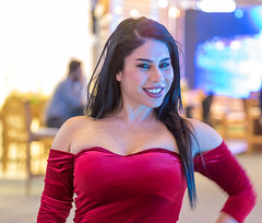 Smiling (Paul Saad) Tags: lebanon beirut naya singer famous woman women pretty blonde smile celebrity portrait people photo