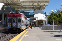 Millbrae (Jan Dreesen) Tags: california californië usa united states vs verenigde staten amerika america openbaar vervoer transport public transit commuter rail caltrain train trein railway railroad millbrae station