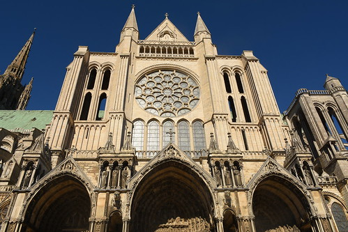 Chartres Cathedral Side Entrance