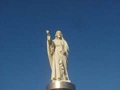 Cristo (marciaaki05) Tags: ceu sky cristo salvador bahia brasil